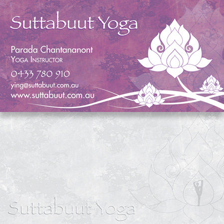Suttabuut Yoga - Business Card