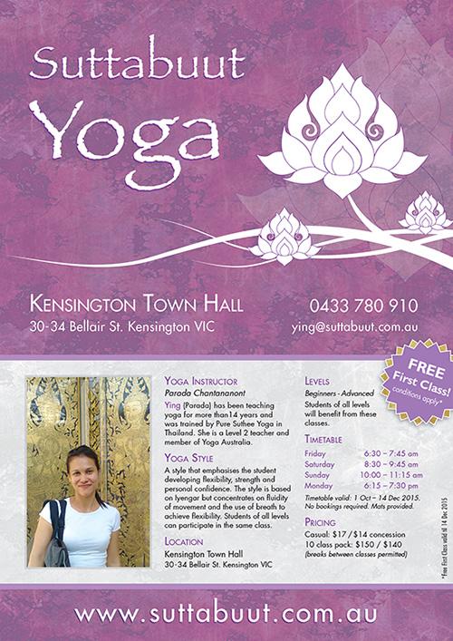 Suttabuut Yoga - Poster