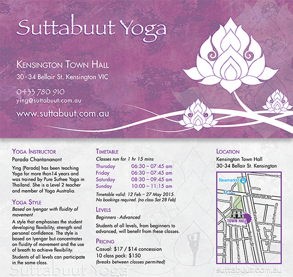 Suttubuut Yoga - DLflyer
